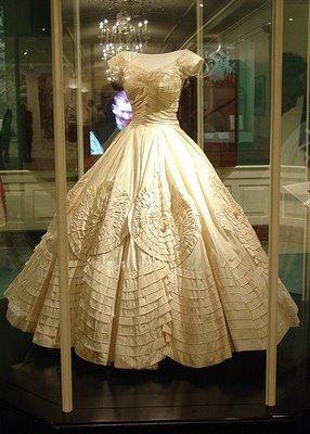 Jackie Kennedy's wedding dress