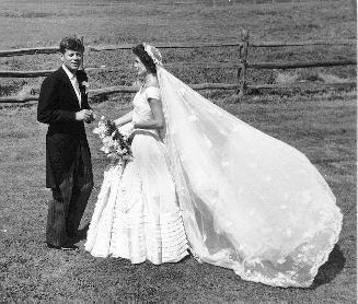 Jackie+Kennedy+Wedding